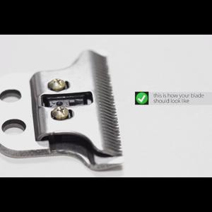 """Як виставити ніж на """"0"""" мм WAHL T-Wide Detailer."""